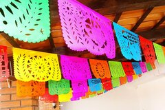 Selling with online payment: Papel Picado Fiesta Party Decorations 5 pack