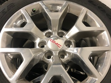 Selling: GMC Sierra 1500 Rims & Tires