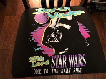 Selling with online payment: Star Wars Darth Vader Chair