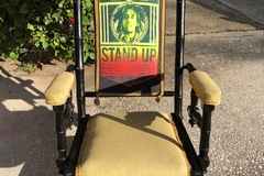 Selling with online payment: Bob Marley Reggae ROCKing Chair