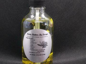 Selling with online payment: (4 oz ) After shower body oil