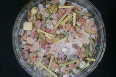 Selling with online payment: (8 oz) Muscle relief soaking bath salts..3 salt blend..
