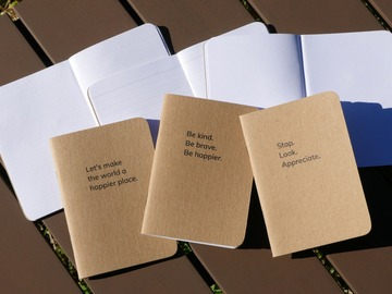 Selling with online payment: Notebook Collection (Set of 3)