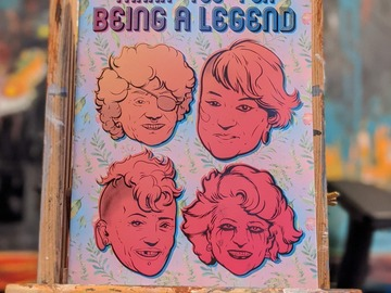 Selling with online payment: Golden Girls Coloring Book
