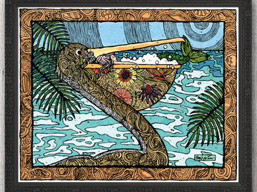 Selling with online payment: Mermaid Prints