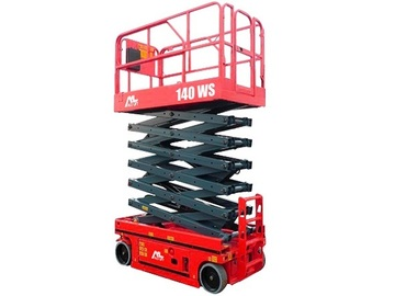 En alquiler: Tijera Eléctrica de 14 metros