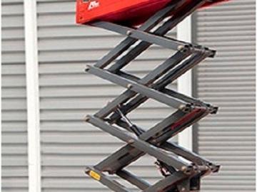 En alquiler: Tijera Eléctrica de 10 metros