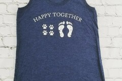 Selling with online payment: Happy Together Tank Top and T-Shirt