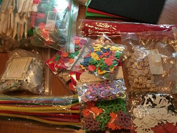 Buy Now: Lot of mixed craft supply, kids activties and paper goods