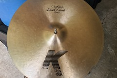 "SOLD!: SOLD! K Zildjian 17"" dark crash cymbal"