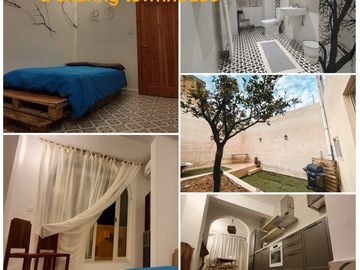 Rooms for rent: Paola - Single Room with Private Terrace in a Shared Townhouse