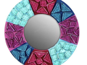 Selling with online payment: Mosaic Mirror Craft Kit