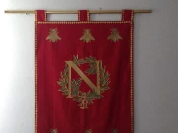 Verkaufen: Napoléon Ier (empereur Royal Crest ETENDARD EMPIRE