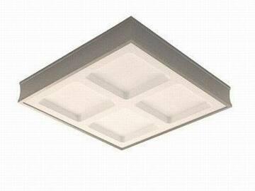 Buy Now: Allen Roth 4 Light Brushed Aluminum Fluorescent Light Fixture Flu