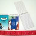 Buy Now: 1000 pieces -Misprint Imprinted Mini Spiral Notebooks Item#081879