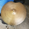 "SOLD!: SOLD! K Zildjian 18"" sizzle ride cymbal  Istanbul stamp '67 - '77"