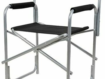 Vermieten: Regiestuhl, Setstuhl, Klappstuhl - Metall