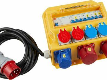 Vermieten: Stromverteiler CEE 16 Anschluss / CEE16, T15, T13