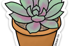 Selling with online payment: Plant Lovers Sticker Bundle