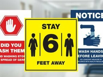 Sell your product:  Safety Signage