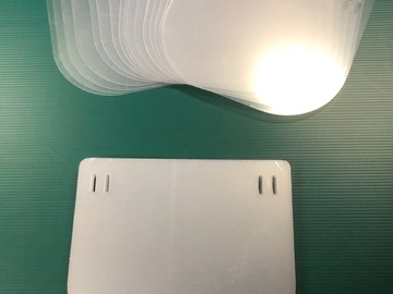 Sell your product: Clear .040Polycarbonate Replacement Shields