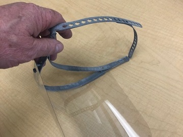 Sell your product: Light Weight Reusable Face Shield