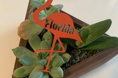 Selling with online payment: Florida Flamingo Magnet