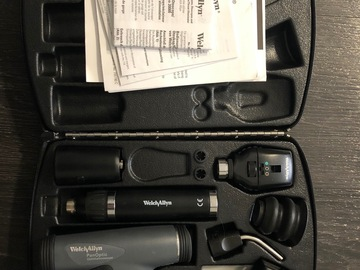 Selling with online payment: Welch Allyn Panoptic Smart Set