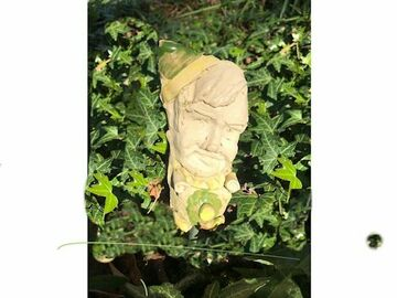 Selling with online payment: YOUR FACE on Small Garden Gnome