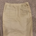 Selling: Khaki Denim Skirt - XS