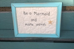 Selling with online payment: Hand done stitchery - Be a Mermaid