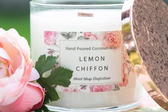 Selling with online payment: Luxury Coconut Wax Candle