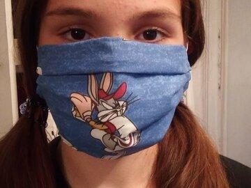 Sale retail: Masques alternatifs ou masque barrière en coton