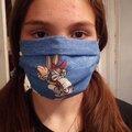 Vente au détail: Masques alternatifs ou masque barrière en coton
