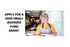 Announcement: THE SAVE SMALL BUSINESS FUND GRANT