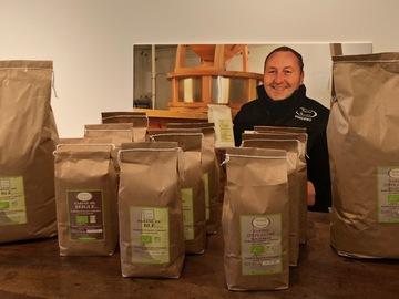 Vente avec paiement en direct: Farine d'Epeautre Bio non hybridé en 1 kg