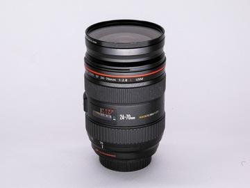 Vermieten: CANON EF 24-70mm f/2.8L II USM Zoom-Objektiv