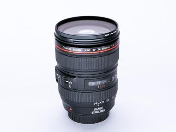 Vermieten: CANON EF 24-105mm f/4L Zoom-Objektiv