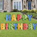 "Book & Pay Online (per party package rental): ""Happy Birthday"" Yard Sign"