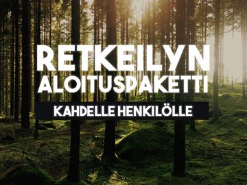 Renting out (by week): Retkeilyn aloituspaketti (2 hnk)