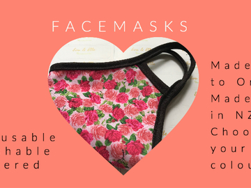Offer: Reusable face masks available