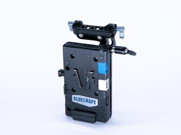 Vermieten: BLUESHAPE MULTI-POWER PLATE + Adjustable Rod Clamp