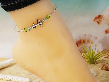 Selling with online payment: Anchor Wrap Ankle Bracelet