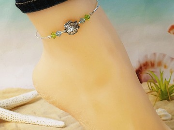 Selling with online payment: Sea Turtle Wrap Anklet
