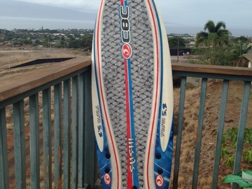 For Rent: 5'8 Softtop Sushi Fish (can body board and huge skim) Maui