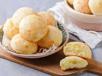 Selling with online payment: 10 GF Cheese Bread