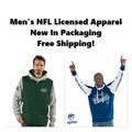 Buy Now: NFL Licensed Apparel, New In Packaging, Free Shipping!