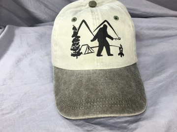 Selling with online payment: Sasquatch Hat, Ball Cap, Dad Hat, Father's Day
