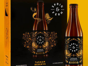 Selling with online payment: Sprig & Fern Tasman Reserve Craft Beer 330ml (24 pack)