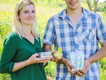 Vente avec paiement en ligne: Cosmétiques au lait d'ânesse